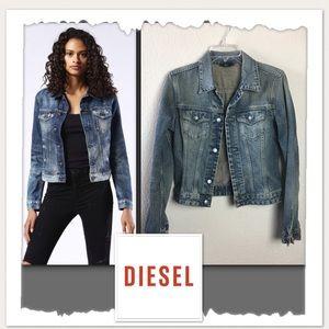 Diesel Mod Kimti Long Denim Jacket